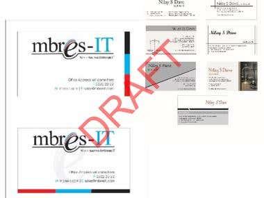Business Cards Design works
