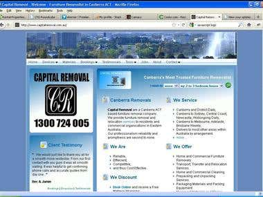 Capital Removal - site, systems, and marketing.