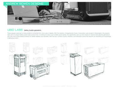 Ubio Labs: battery inverter generators