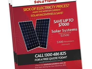 Total Solar Solution a5 Flyer