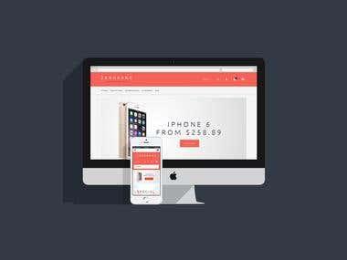 eCommerce websbite zangkang.online