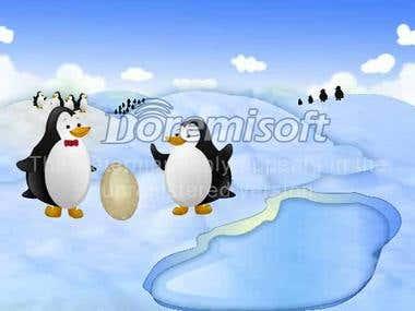 Penguin game sample