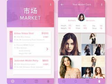 App Design For Model