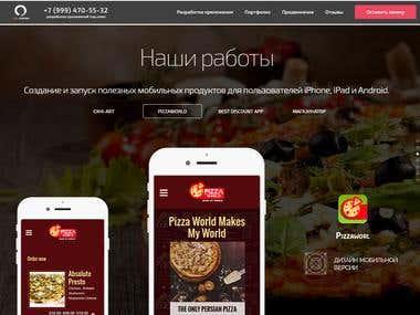 PizzaWorld Application