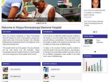 Wijaya Kumarathunga Memorial Hospital official website