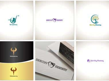 5 versions of the logo for the company