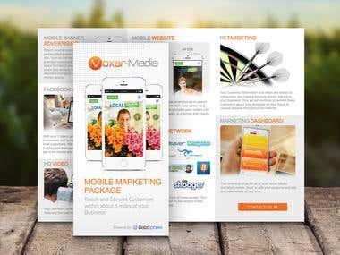 Voxarmedia Brochure Design