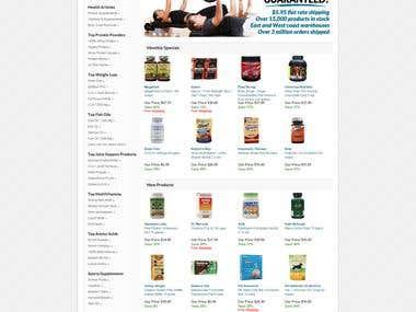 osCommerce online shop