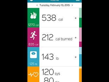 Fitness app - Healthcare Industry