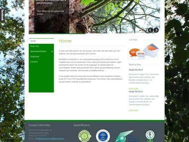 Joomla Website (http://www.dewinkelbel.nl/)