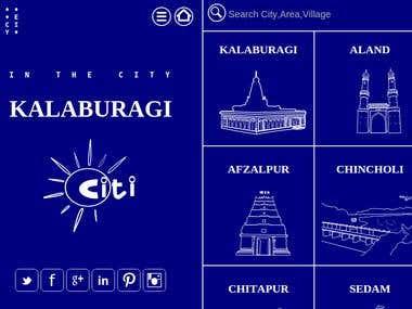 CIty portal Website
