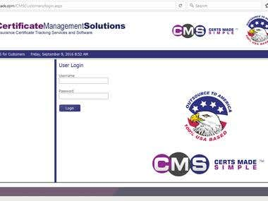 CMS(Certificate Management system)