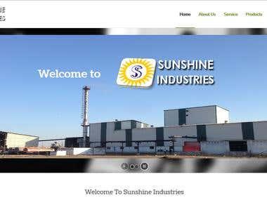 Sunshine Silica Industry website