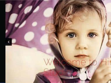 Photography portfilio Website