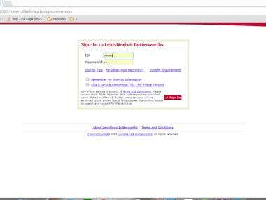 LexisNexis main website