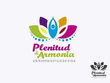 Logotype Plenitud y Armonia