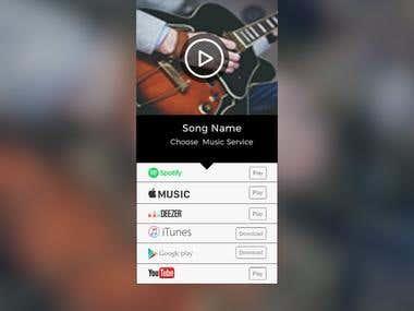Audio React Templates