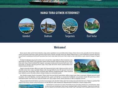 Yacht club site design