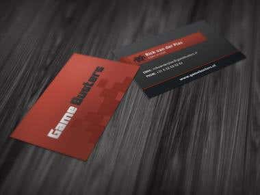Game Busters Business Cards