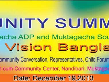 ADV Bangladesh Banner design