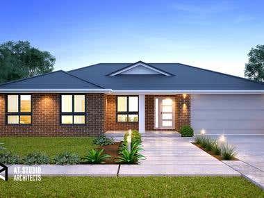 3D Rendering - Rosella House