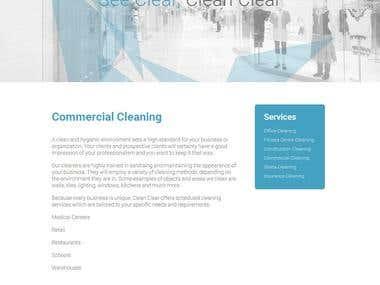 Clean Clear  -  JOOMLA