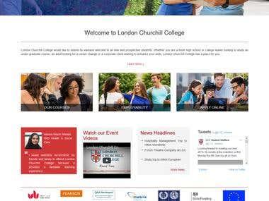 London Churchillcollege website