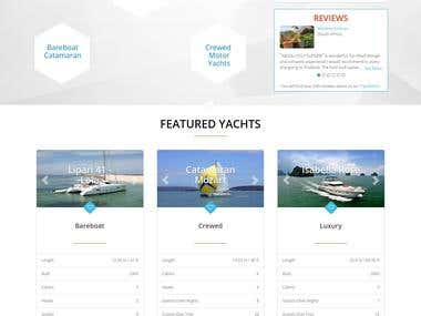 Boats/Yachts Website