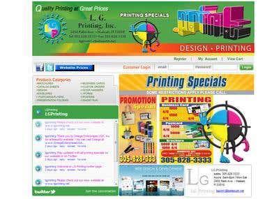 LG Printing company