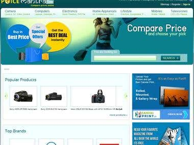 Design and Development of PriceMantra.com