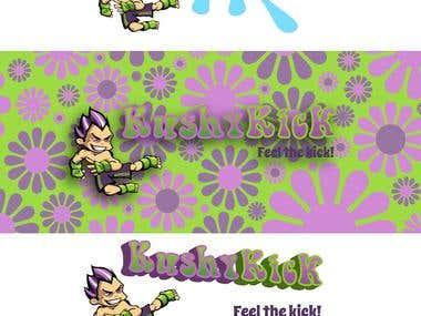 Kushy Kick Illustration