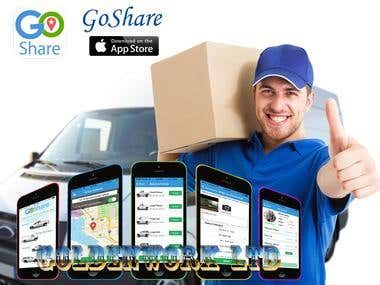 GoShare - Moving, Delivery & Hauling Help On Demand App