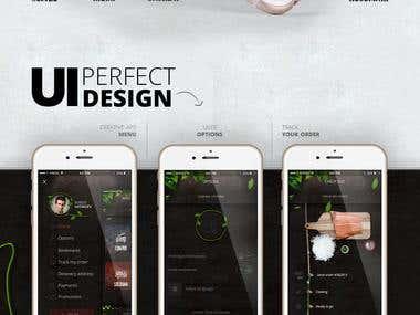Sushi Shop - Mobile App