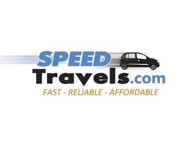 Speed Car Travels Logo