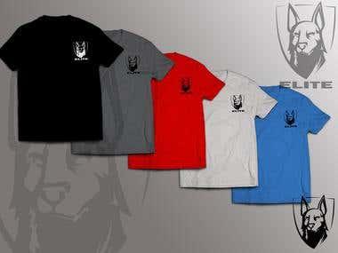 Logo and Shirts Design Concept