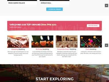 Venues Website