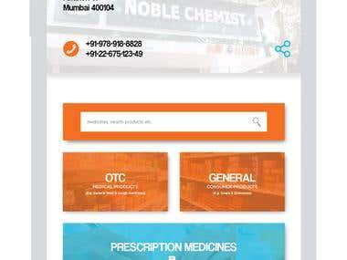 Medomart - Mobile Application