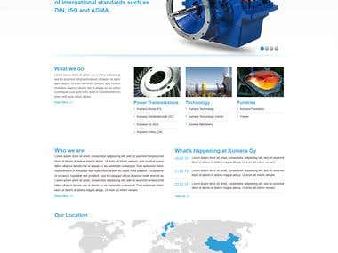 Mining Equipment website