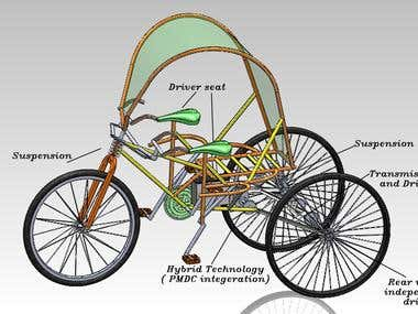 HYBRID TRICYCLE DESIGN