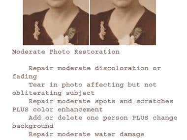 Moderate Photo Restoration