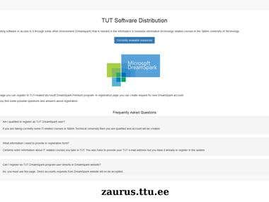 TUT Software Distribution