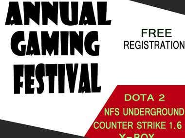 Annual gaming festival