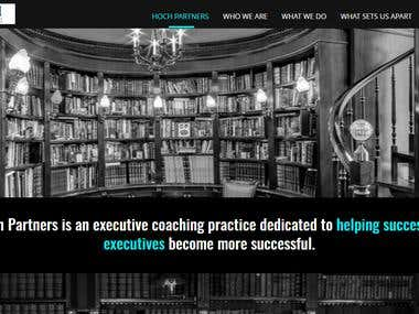 Coaching expert's website