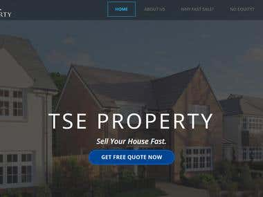 Property sale Consultant's website