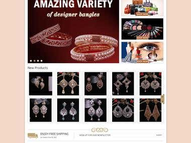 Ecommerce Website for a Women Fashion Accessories Store