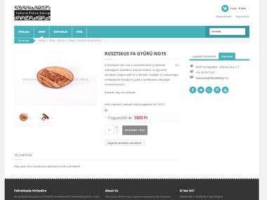 Tabuladesign Webshop