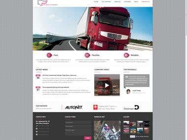 Presentation Website in WordPress