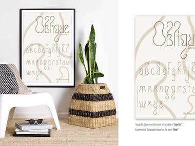 Oblique / Typography