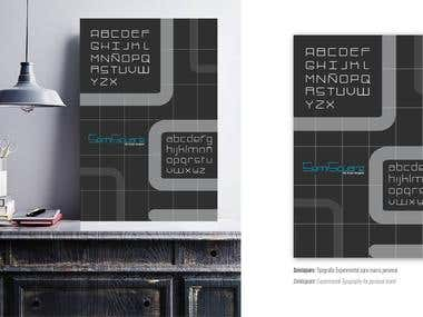 SemiSquare / Typography