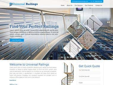 Universal Railings [ WordPress ]